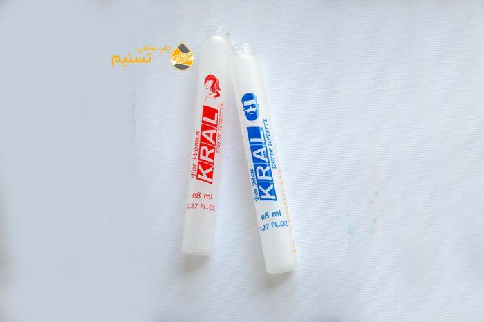 perfume bottle printing - kral